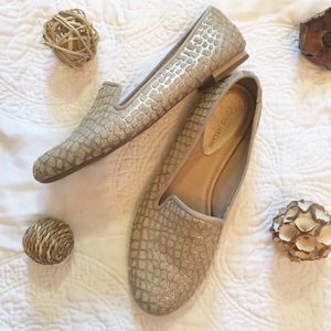 Antonio Melani Georgie Loafers Beige/Gold